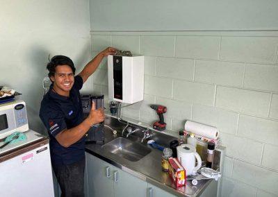 Jaymark plumbing work