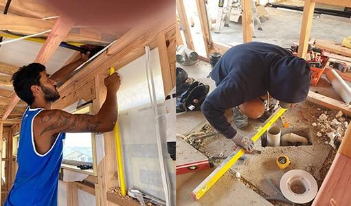 new build plumbing